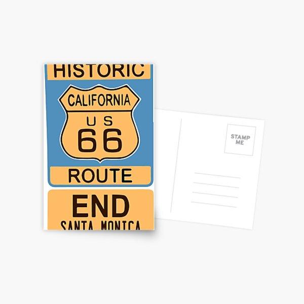 Santa Monica. Postcard