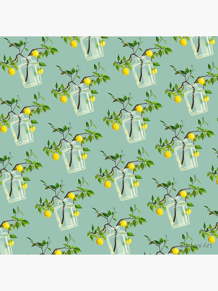 Lemon Tree Pattern by sunleeart