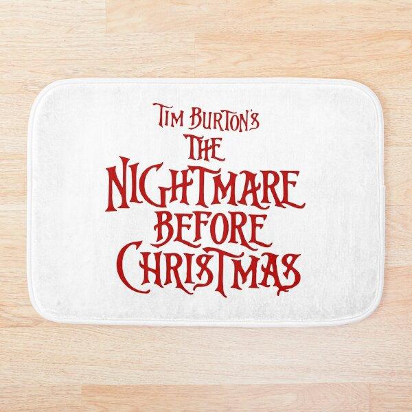 nightmare christmas Bath Mat