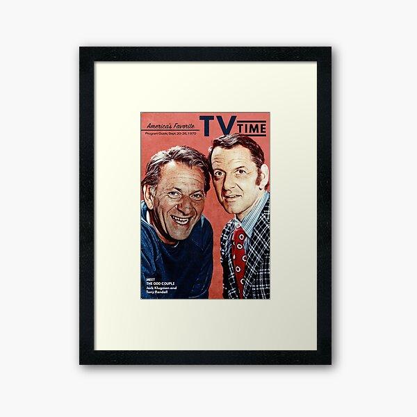 The Odd Couple  (TV Time September 1970) Framed Art Print