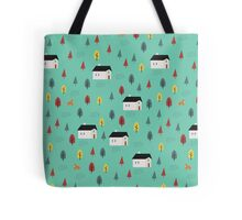 Countryside Pattern Tote Bag