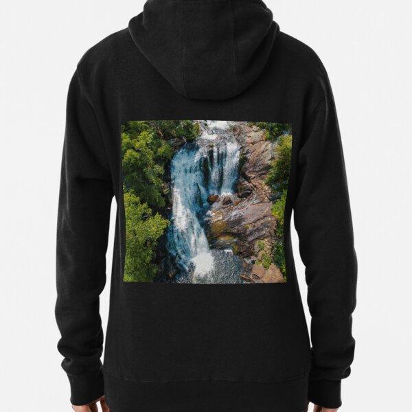 Women/'s Hoodie Volcano Waterfall