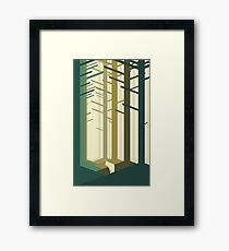 Lonely wolf Framed Print