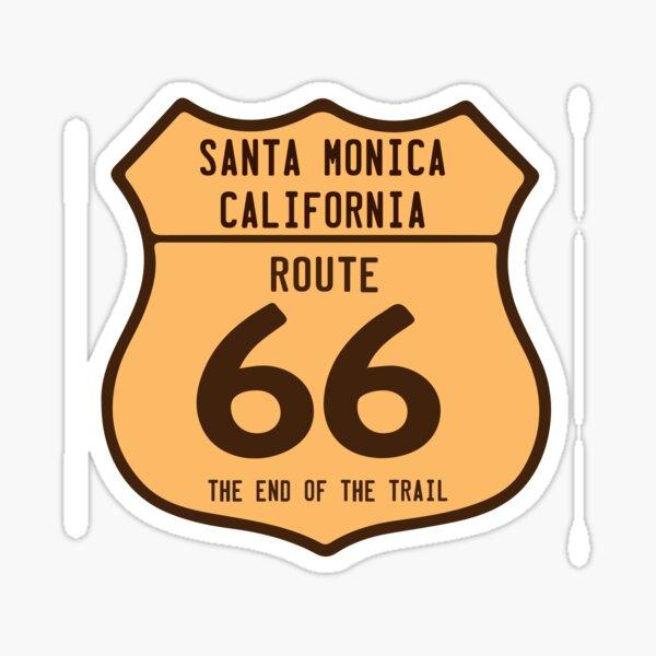 Santa Monica. Sticker