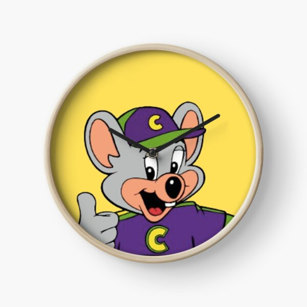 Chuck E Cheese Clock