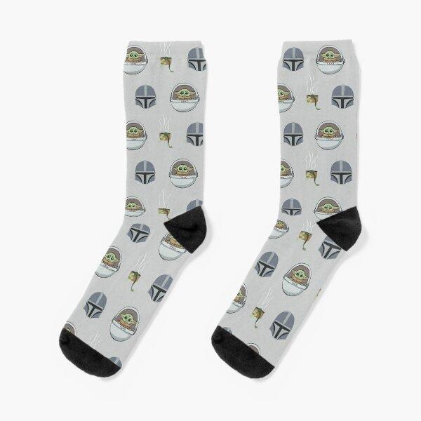 seamless cool ice platinum grey repeat pattern Socks