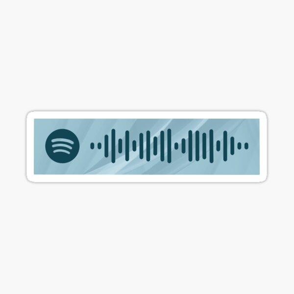GOT7 Breath Spotify Code Sticker
