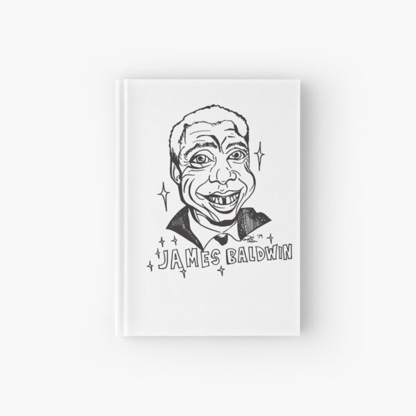 Color Your Own Black Legendary, James Baldwin Hardcover Journal