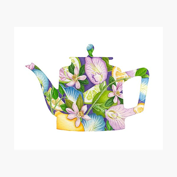 What's In Your Tea No 5 Photographic Print