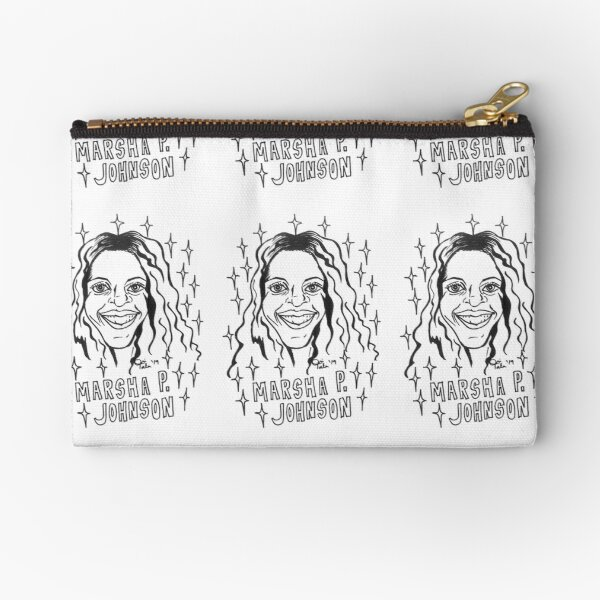 Color Your Own Black Legendary, Marsha P Johnson Zipper Pouch
