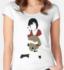 Mathilda Tailliertes Rundhals-Shirt