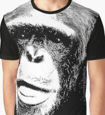 Common chimpanzee-3 Graphic T-Shirt