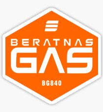Beratnas GAS company - The Expanse Sticker