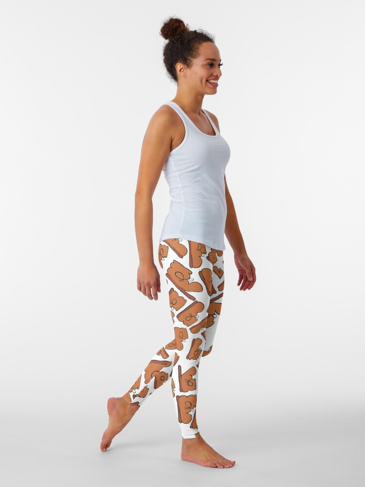 Alternate view of The Many Faces of Boot Leggings