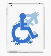 Disabled and Non-Binary iPad Case/Skin