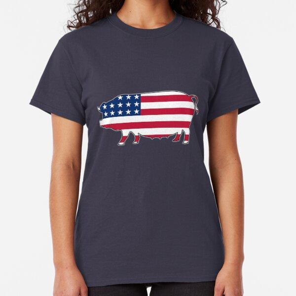 USA Flag United States of America Stars And Stripes Freedom Mens V-neck T-shirt