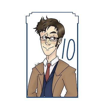 10th Doctor by lordofcats