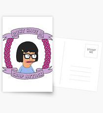 Crap Attack // Tina Belcher Postcards