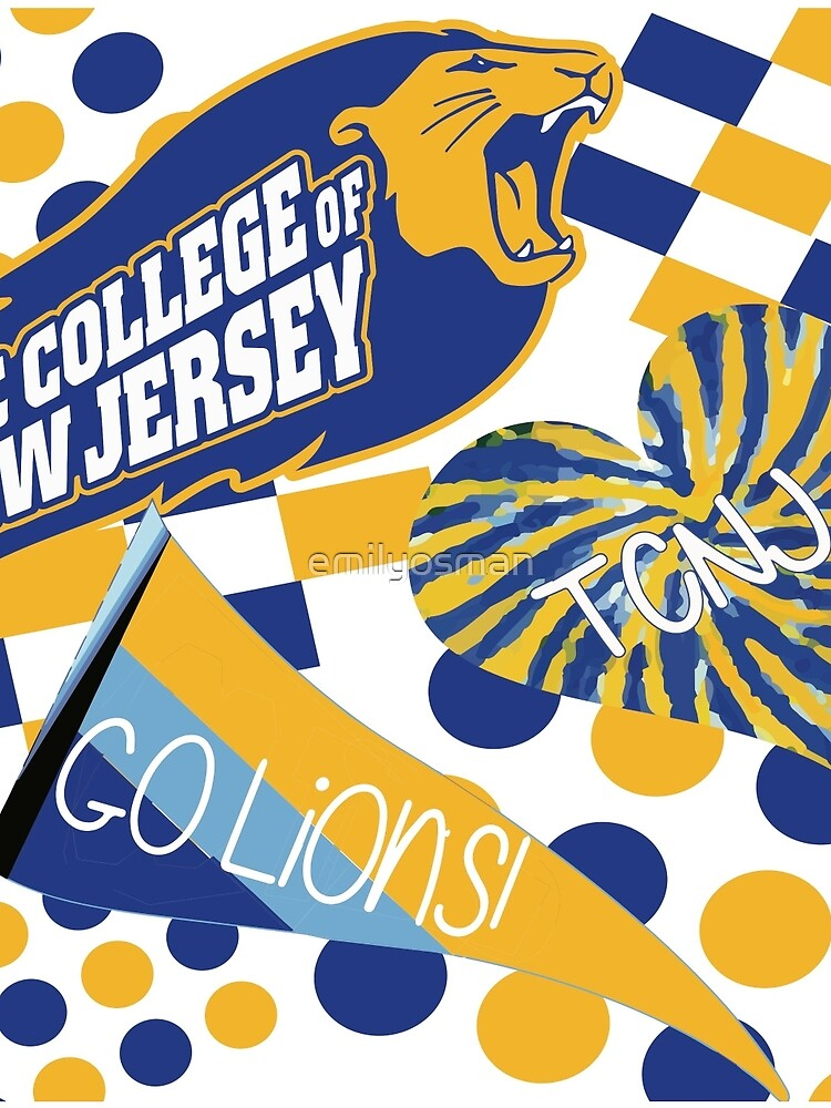 The College of New Jersey Collage by emilyosman