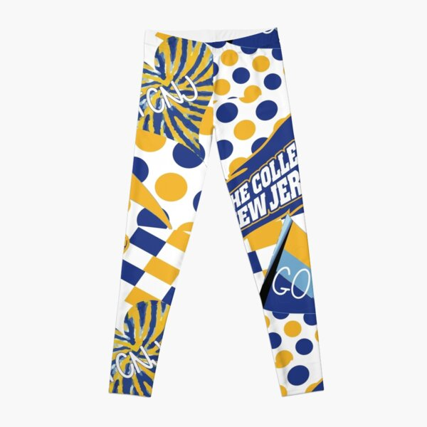 The College of New Jersey Collage Leggings