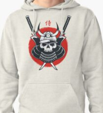 Honor of Samurai Pullover Hoodie