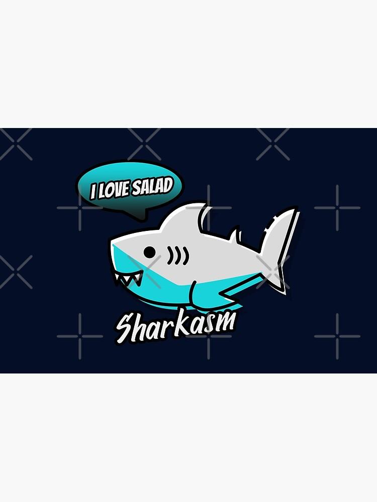 Sharkasm by WendyLeyten