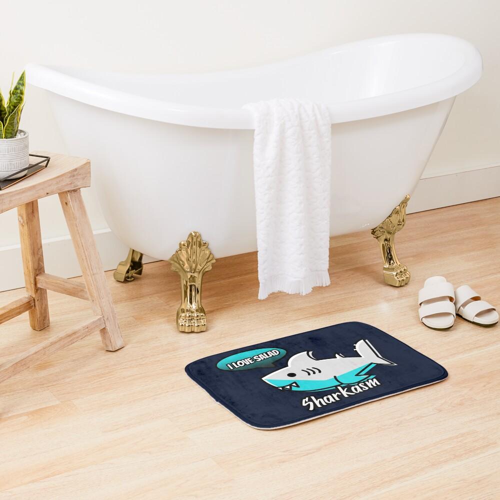 Sharkasm Bath Mat