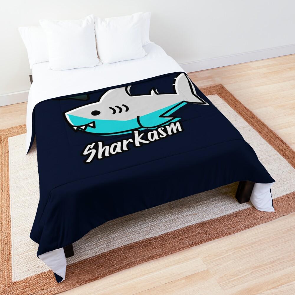 Sharkasm Comforter