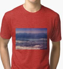 Early Morning View of Lake Chiem and the Alps Tri-blend T-Shirt