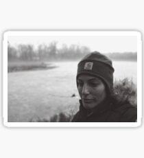 Portrait of an Adventurer Sticker