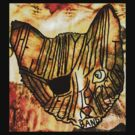 The Johnny King III Folk Explosion Band -pirate cat by John King III