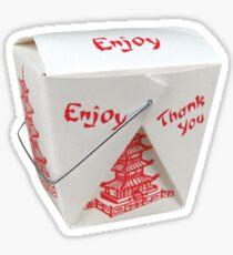 Chinese Food Sticker Sticker