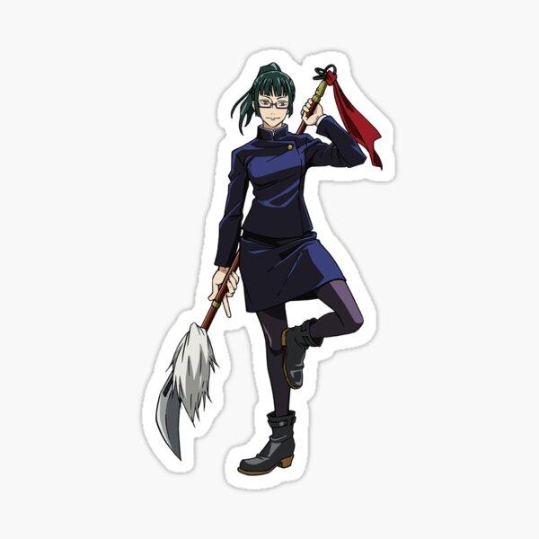 Jujutsu Kaisen Maki Zen Sticker