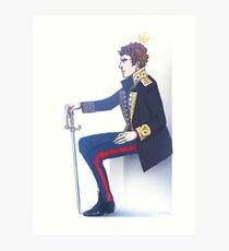 Benedict Cumberbatch - Hamlet Art Print