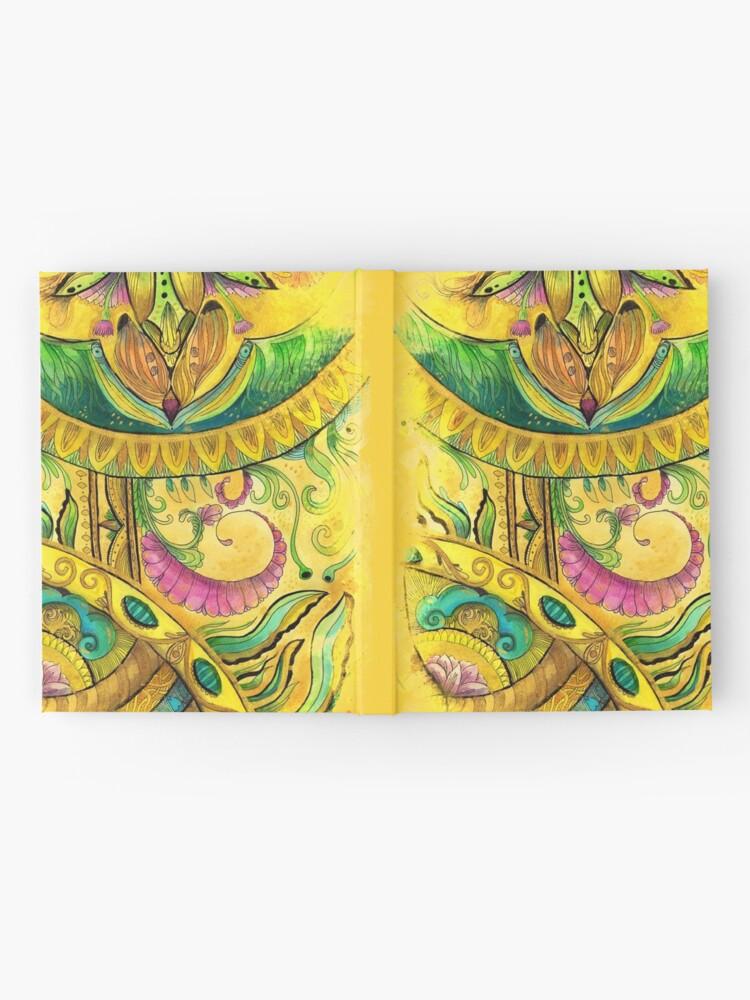 Alternate view of Baroque Organic Hardcover Journal