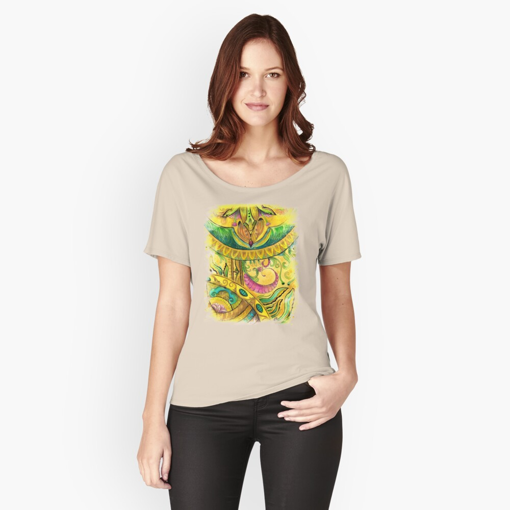 Baroque Organic Relaxed Fit T-Shirt