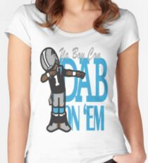 DAB ON'EM Women's Fitted Scoop T-Shirt