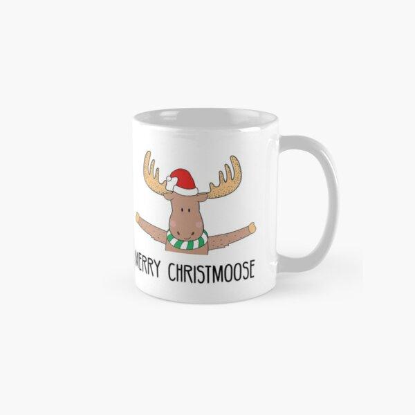 Merry Christmoose Hug  Classic Mug