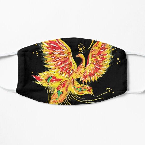 """Русская народная сказка """"Жар-птица"""" (""""Иван - царевич и серый волк"""") (Russian folktale """"The Firebird"""") Flat Mask"""