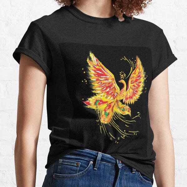 """Русская народная сказка """"Жар-птица"""" (""""Иван - царевич и серый волк"""") (Russian folktale """"The Firebird"""") Classic T-Shirt"""