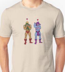 He-Man and Skeletor Snuggle Break Unisex T-Shirt