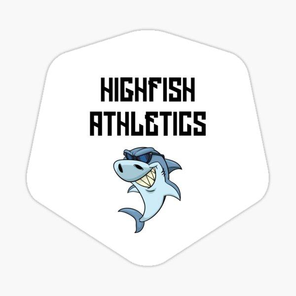 187 - Highfish Athletics Deutschrap Fan Design Sticker