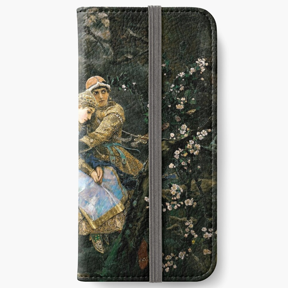 Ivan tsarevich riding the grey wolf iPhone Wallet