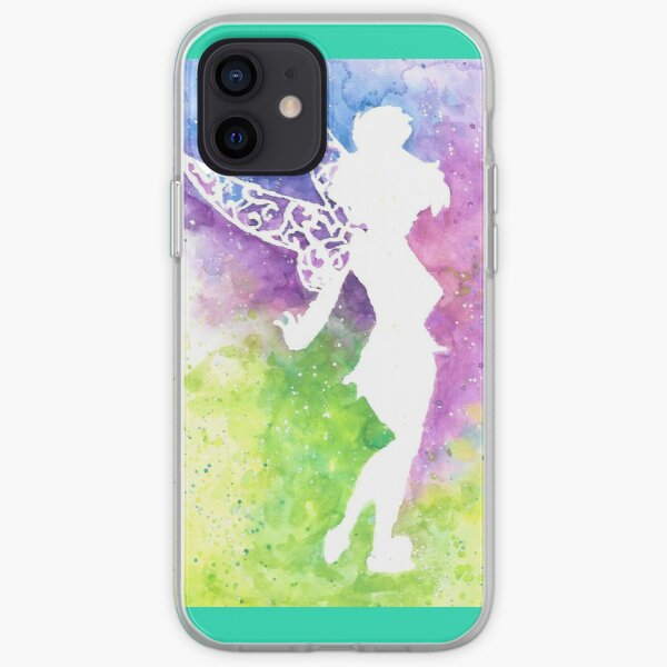 tink multi coloured silhouette  iPhone Soft Case