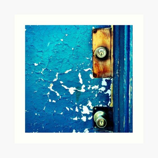Crackle Open the Door Art Print