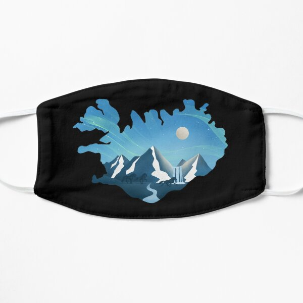 Under The Icelandic Moon Mask