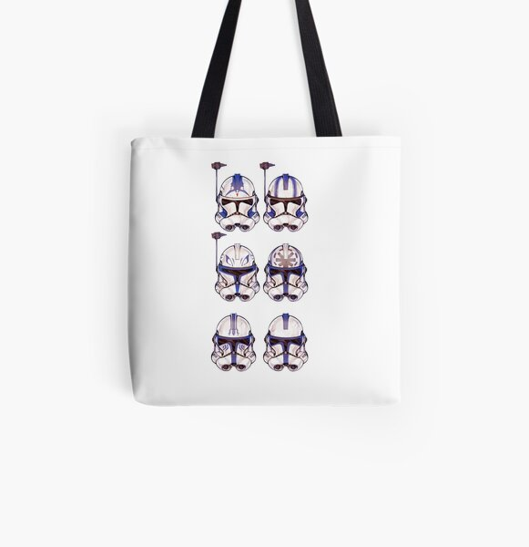 501st 6-pack All Over Print Tote Bag