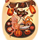 Cat's Sushi by Jiaqihe