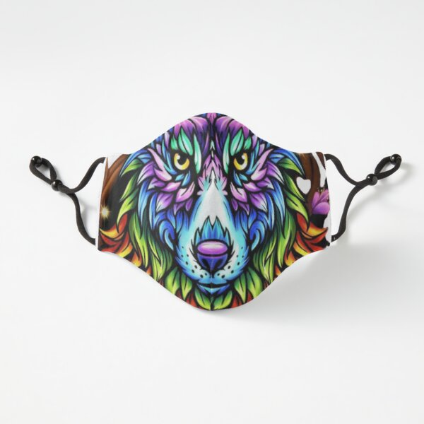 RAINBOW WOLF  Fitted 3-Layer