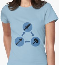 WEAPON TRIANGLE | Fire Emblem Women's Fitted T-Shirt